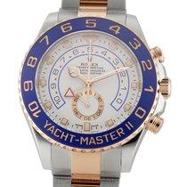 Rolex Yacht-Master II 116681 Ungetragen Gold/Stahl 44mm Automatik