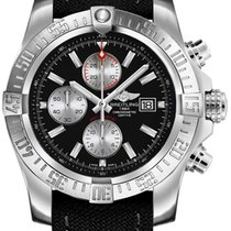 Breitling Super Avenger II new Automatic Chronograph Watch with original box A1337111-BC29-104W