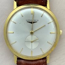 Longines Longines Men's 18K Solid Gold Manual Hand-Wind Dress Watch 1955 gebraucht