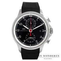 IWC Portuguese Yacht Club Chronograph Staal 45mm Zwart Nederland, Purmerend