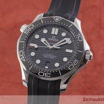 Omega Seamaster Diver 300 M Acél 42.5mm Fekete