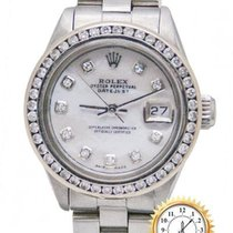 Rolex Oyster Perpetual Lady Date Acier 26mm Rose