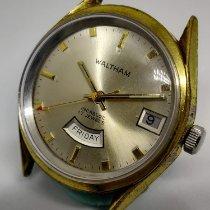 Waltham Gold/Stahl 36mm Handaufzug gebraucht