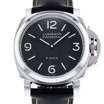 Panerai Luminor Base 8 Days Acero 44mm Negro
