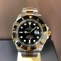 Rolex Sea-Dweller Yellow gold 43mm Black