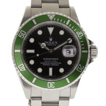Rolex 16610 Steel 2007 Submariner Date 40mm pre-owned United States of America, Florida, Miami