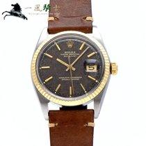 Rolex Datejust Acier 36mm Brun
