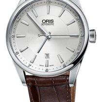Oris Artix Date Acier 42mm Argent