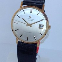 Certina Yellow gold 35mm Automatic new