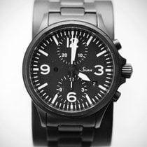 Sinn Chronometer 40mm Automatic 2012 pre-owned 756 / 757 Black