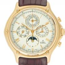 Ebel 1911 Chronograph ewiger Kalender Mondphase 18kt Gelbgold...