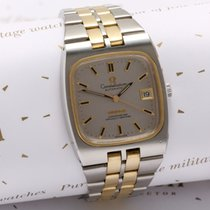 Omega Constellation chronometer 14 ct gold and steel