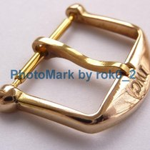 IWC ROSE GOLD PLATED 16mm TANG (PIN) BUCKLE CLASP RARE NICE SHAPE