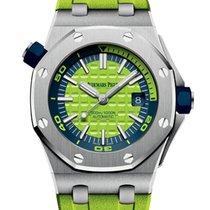 Audemars Piguet Royal Oak Offshore Diver Lime Green Dial