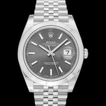 Rolex Datejust 41 Dark rohdium Steel 41mm Jubilee - 126300