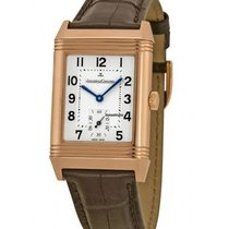 Jaeger-LeCoultre Reverso Grande Taille Rose gold 42.2mm Silver United States of America, New York, New York