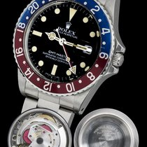 Rolex GMT-Master ref 16750 full set 1982 EXTRA PATINA DIAL