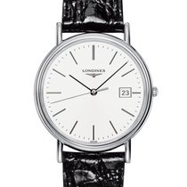 Longines Présence Steel 38mm White No numerals United States of America, New York, New York