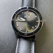 Blancpain Fifty Fathoms Bathyscaphe Steel 43mm Grey United States of America, Illinois, Chicago