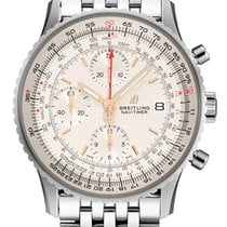 Breitling Navitimer Heritage Steel 41,00mm Silver Arabic numerals