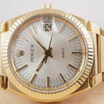 Rolex gebraucht Quarz 39mm Gold Saphirglas