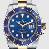 Rolex Submariner Date Gold/Steel 40mm Blue No numerals United States of America, New Jersey, Totowa