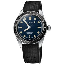 Oris Divers Sixty Five new Automatic Watch with original box and original papers 01 733 7707 4055-07 4 20 18