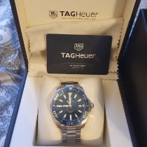 TAG Heuer WAY111C.BA0928 Steel 2017 Aquaracer 300M 41mm pre-owned United Kingdom, Lee on the solent