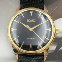 Gruen Gold/Steel 40mm Automatic Precision pre-owned