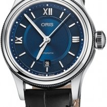 Oris Classic Steel 28.5mm Blue Roman numerals United Kingdom, Hemel Hempstead, Hertfordshire