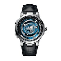 Ulysse Nardin Platinum Automatic Black 46mm new Moonstruck