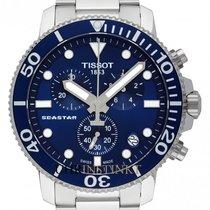 Tissot Seastar 1000 Stahl 45.5mm Blau