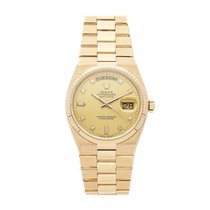 Rolex Day-Date Oysterquartz Yellow gold 36mm Champagne No numerals United States of America, Pennsylvania, Bala Cynwyd