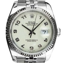 Rolex Datejust 36mm Champagne Arabic numerals