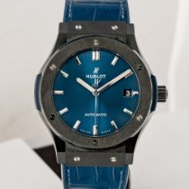 Hublot Classic Fusion Blue Ceramic 45mm Blue No numerals United States of America, Massachusetts, Boston