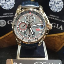 Chopard Or rose Chronographe Gris 44mm nouveau Mille Miglia