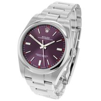 Rolex Oyster Perpetual 39 Steel 39mm Red United Kingdom, London