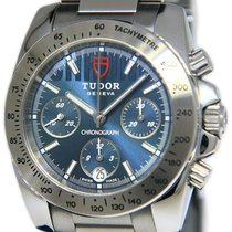 Tudor Sport Chronograph Stahl 41mm Blau