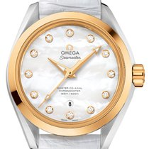 Omega Seamaster Aqua Terra Gold/Steel 34mm