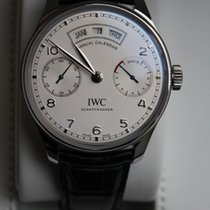 IWC Portuguese Annual Calendar Steel 44,2mm Silver Arabic numerals