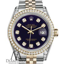 Rolex Ladies Rolex Stainless Steel And Gold 26 Mm Datejust...