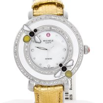 Michele Women's MWW20C000008 Bumble Bee Golden Leather...