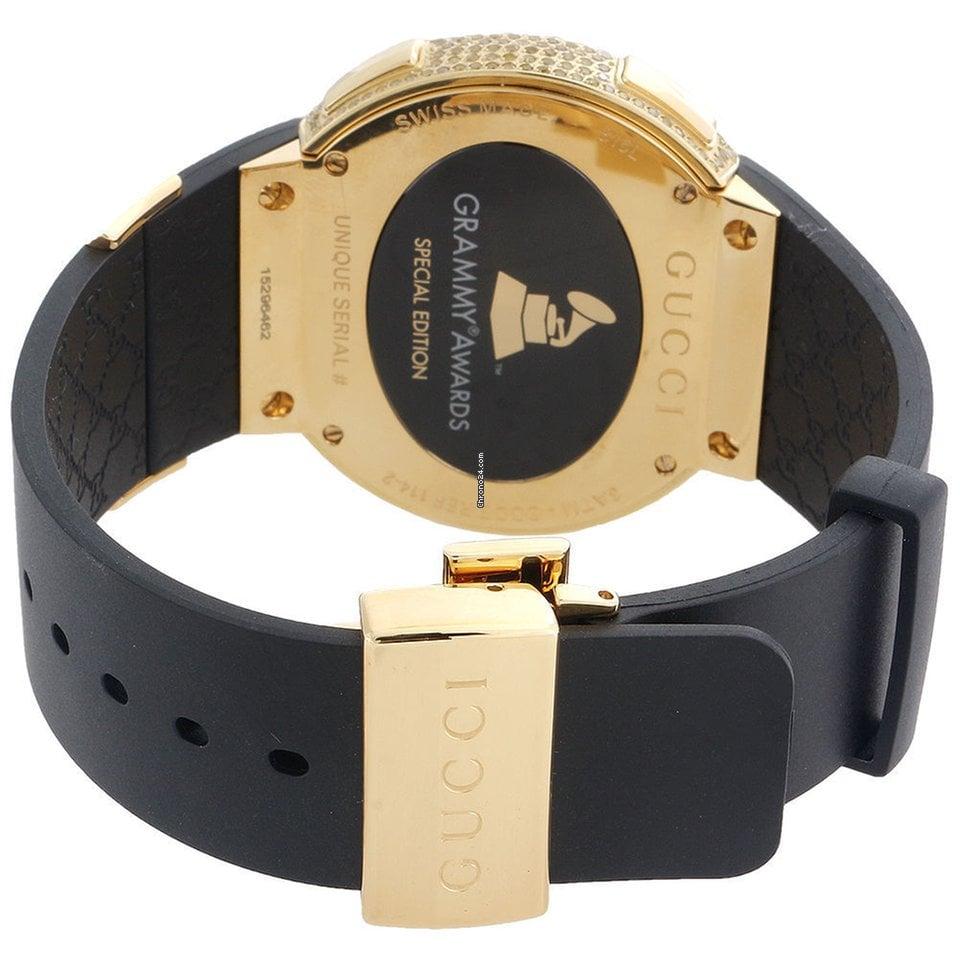5e19acac5cf Gucci Yellow Diamond I-Gucci Watch Mens Digital Gucci Grammy... for ...