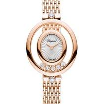 Chopard 209421-5001 Růžové zlato 2021 Happy Diamonds nové
