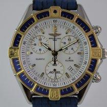 Breitling J Class Chronograph Gold Lünette #A3391 D53067 Best...