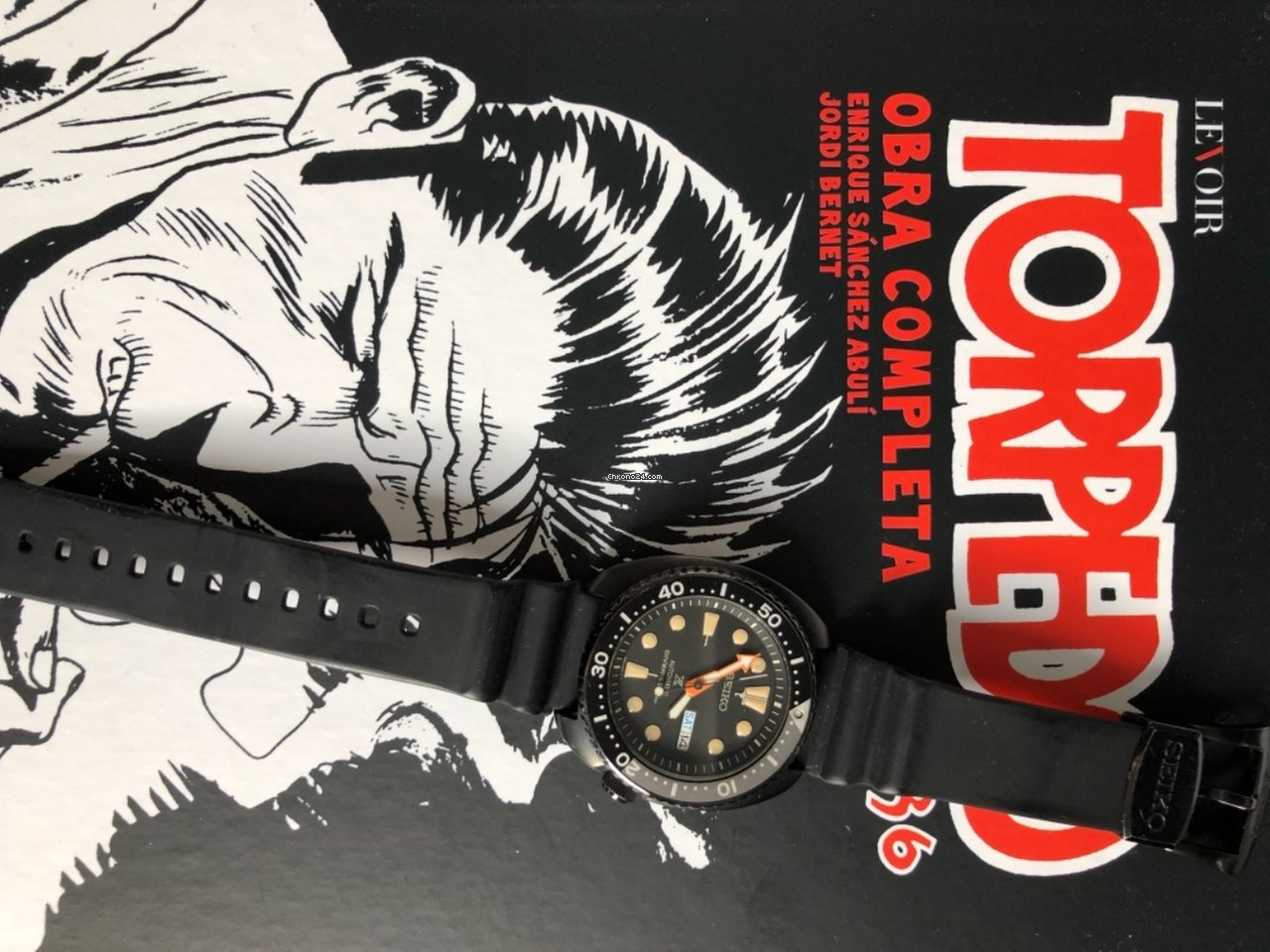 Seiko Ninja Turtle SRPC49K1  6a14fb9376