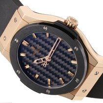 Hublot 45mm Automatic pre-owned Classic Fusion 45, 42, 38, 33 mm Black