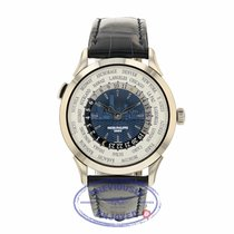 Patek Philippe World Time White gold 38.5mm Blue United States of America, California, Beverly Hills