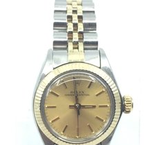 Rolex Oyster Perpetual Aço 24mm Ouro