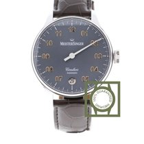 Meistersinger Steel 43mm Automatic CC927G new